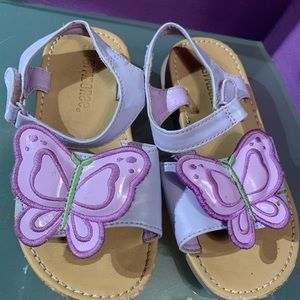 Gymboree Butterfly Blossom Sandals Size 9